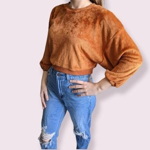 NWT Urban Outfitters Soft Cropped Sweater